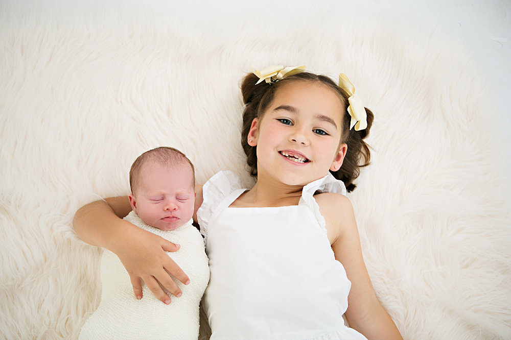 salt lake city utah newborn photography sibling photos