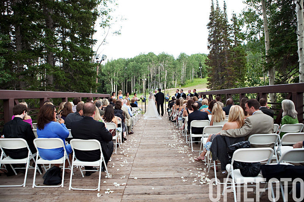 park city utah canyons red pine lodge wedding