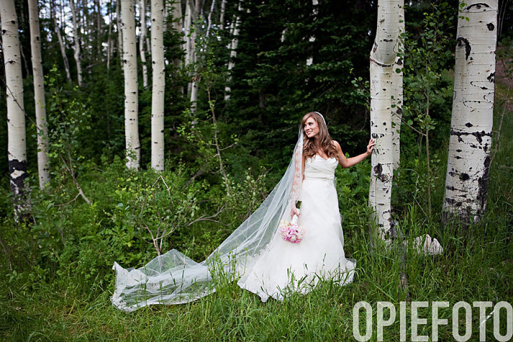 park city utah canyons wedding