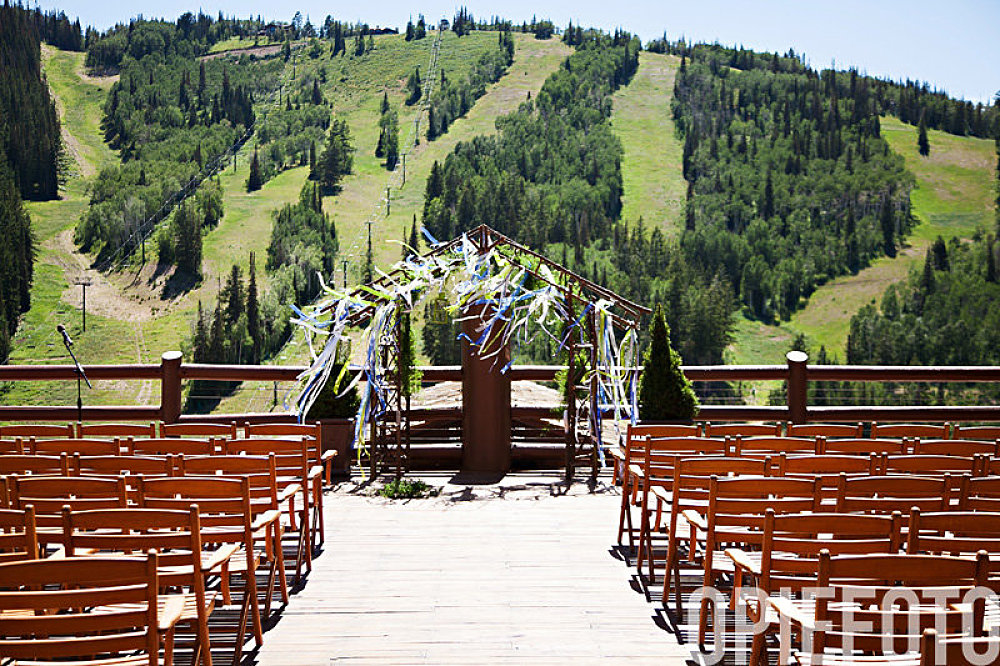 stein eriksen lodge wedding ceremony